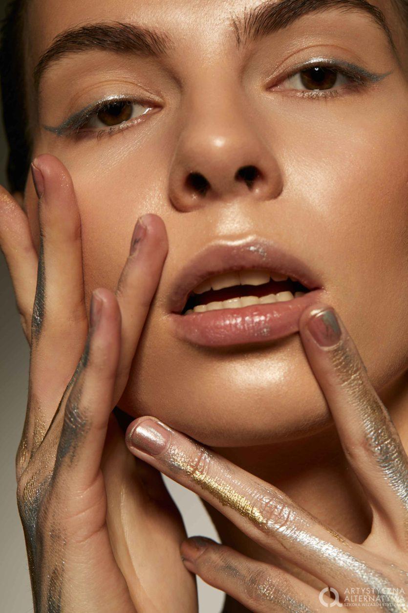 Sesja zdjęciowa makijaż artystyczny