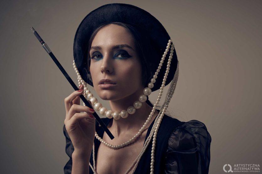 Sesja zdjęciowa makijaż fashion