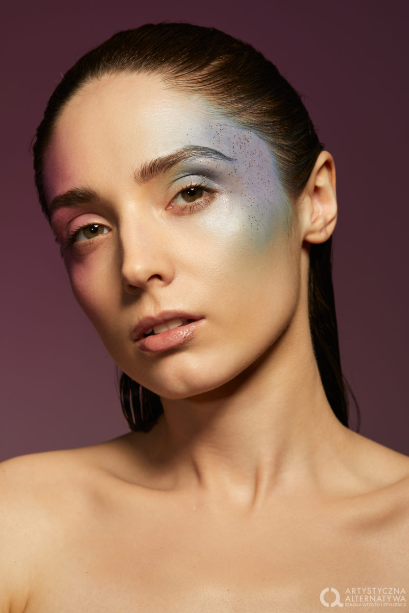 Sesja zdjęciowa makijaż artystyczn