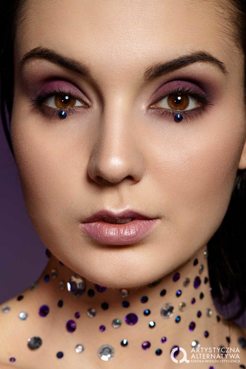 Sesja zdjęciowa makijaż beauty