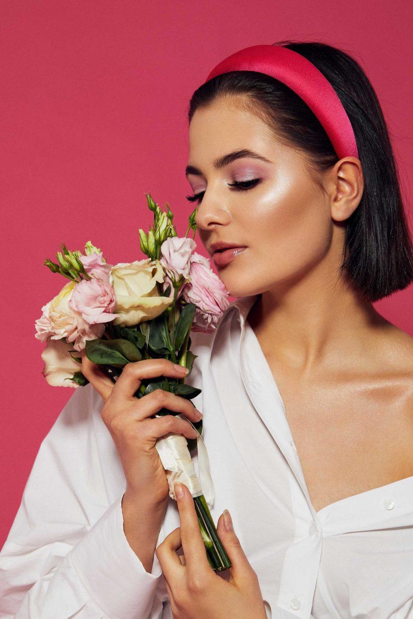 Sesja zdjęciowa makijaż ślubny