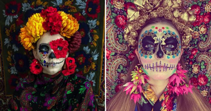 Halloween w duchu Santa Muerte