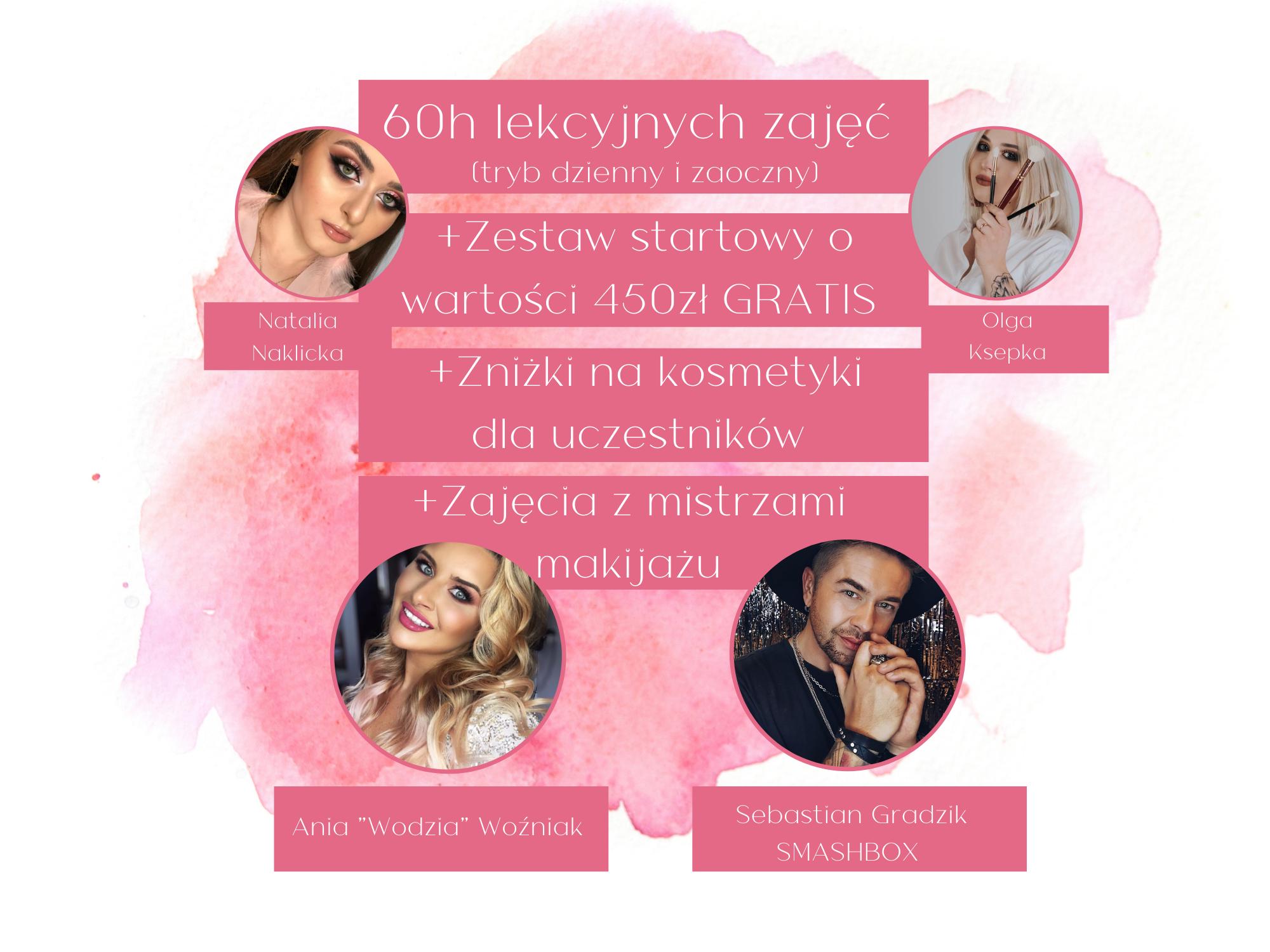 Intensywny kurs makijażu: edycja wiosenna (tryb dzienny)