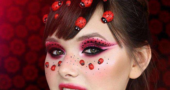 Insta make up: kreatywny Cut Crease z GlamDivą