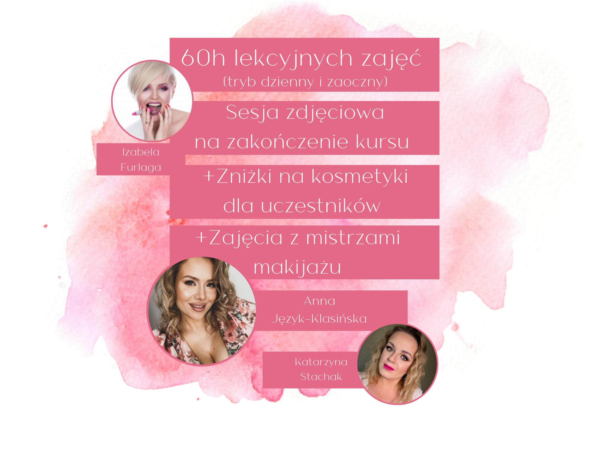Intensywna szkoła makijażu: edycja jesienna (tryb dzienny) w Krakowie